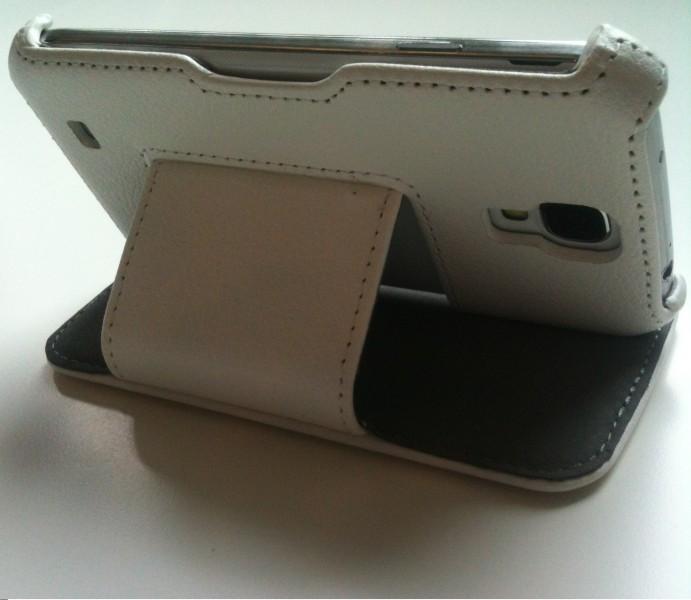 samsung galaxy s4 i9500 tasche h lle flip cover case schutz wei ebay. Black Bedroom Furniture Sets. Home Design Ideas