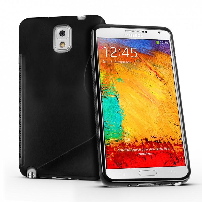 eFabrik Silikon Hu00fclle fu00fcr Samsung Galaxy Note 3 Smartphone (14,5 cm ...