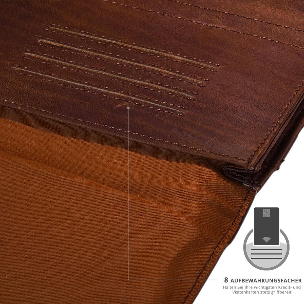 efabrik ledertasche f r acer iconia tab 10 a3 a30 10 1. Black Bedroom Furniture Sets. Home Design Ideas