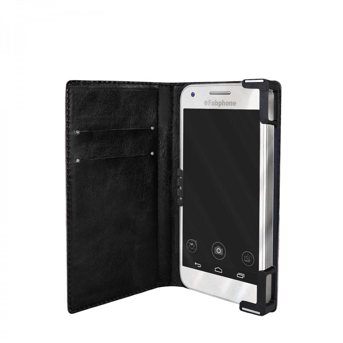efabrik universal smartphone tasche 4 4 5 zoll schutz. Black Bedroom Furniture Sets. Home Design Ideas
