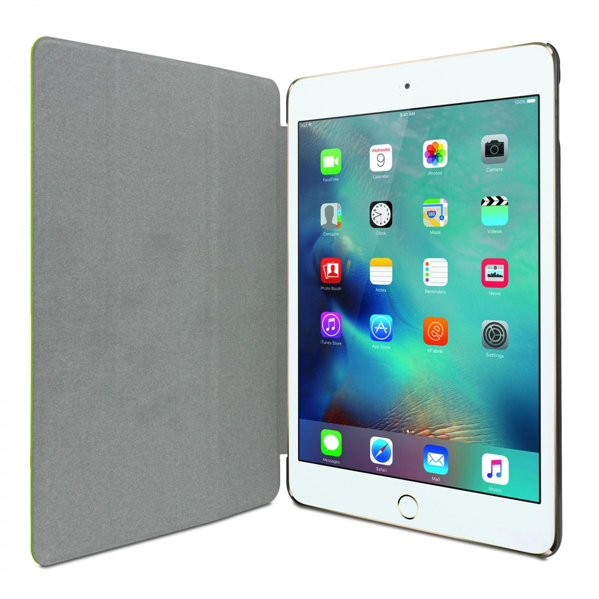 efabrik tablet tasche f r apple ipad mini 4 h lle gr n 7 9 zoll 20 1cm design case tablet. Black Bedroom Furniture Sets. Home Design Ideas