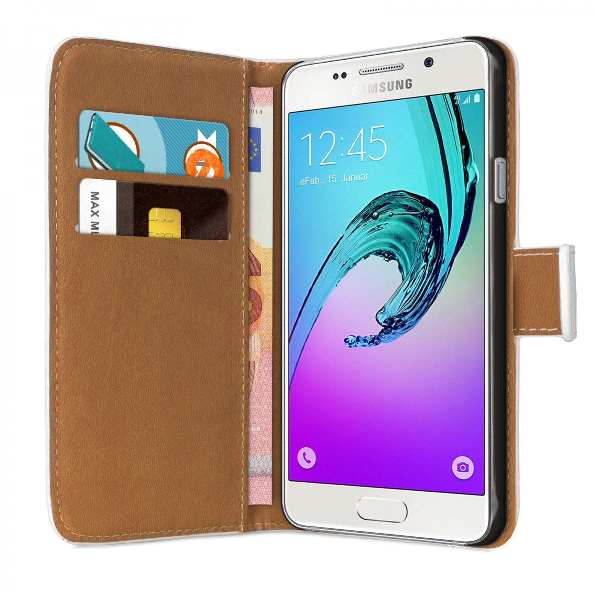 efabrik cover f r samsung galaxy a3 2016 case bookstyle. Black Bedroom Furniture Sets. Home Design Ideas