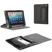 Tasche für Lenovo IdeaPad Yoga 8 Tablet (8 Zoll HD) Hülle Case Schutz Cover Schutzhülle Etui Leder-Optik schwarz
