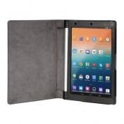 eFabrik Tasche Lenovo IdeaPad Yoga Tablet (10 Zoll HD+) Hülle Schutz Case Cover Etui Schutzhülle Kunstleder Stand Funktion schwarz