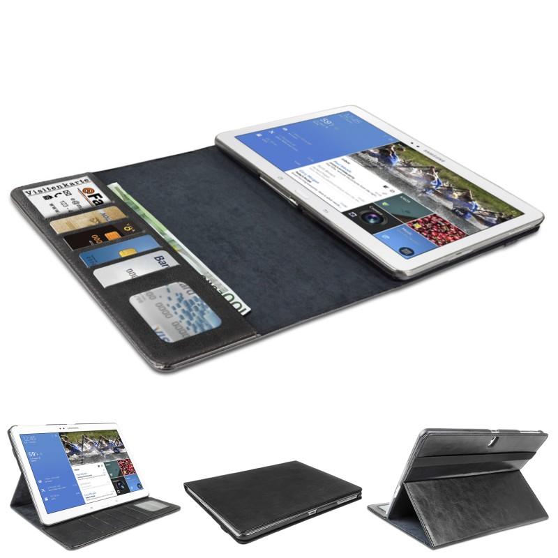 tasche f r samsung galaxy tab pro 10 1 h lle case schutz cover tablet zubeh r schutztasche schwarz. Black Bedroom Furniture Sets. Home Design Ideas